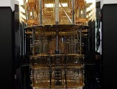 An IBM quantum computer prototype, presented last year at CES in Las Vegas.  JML Pictures