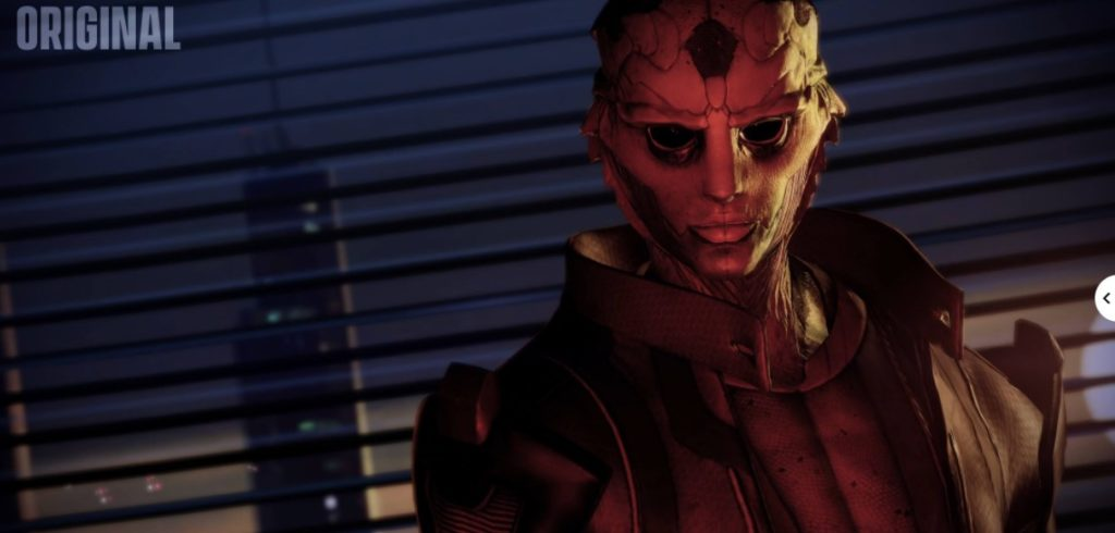 Photo 3: Mass Effect Legendary Edition compared to the original trilogy