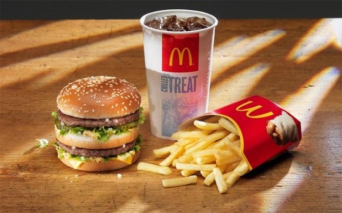New burger in McDonald's