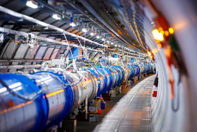 Particle Accelerator CERN, at Echenevex (Ain), February 6, 2020.
