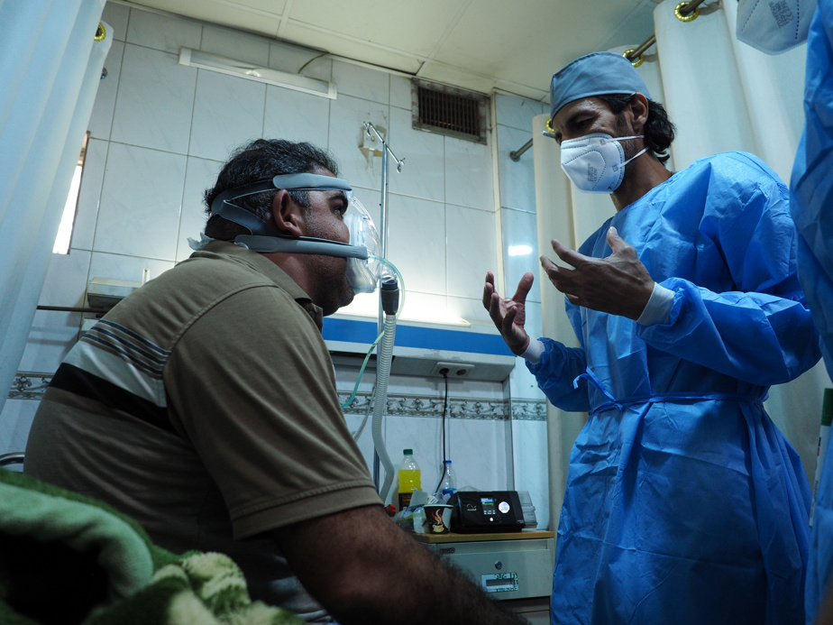 The nurse, Mahmoud Mohamed Farag, and the patient, Mohamed Youssef Radi