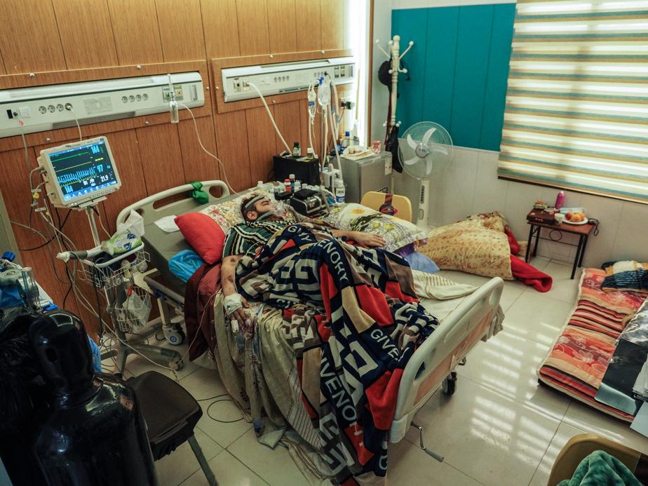 Sadiq Haidar, 24, has been in hospital for 26 days.