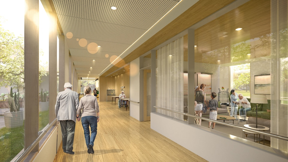 Sample Legault Government Seniors Home Project.