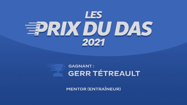 DAS Gerr Tétreault Award Winner
