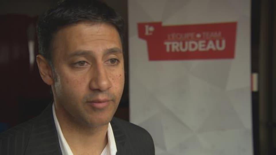 Aref Ferrani, Parliamentary Secretary to Canadian Heritage Minister Melanie Jolie