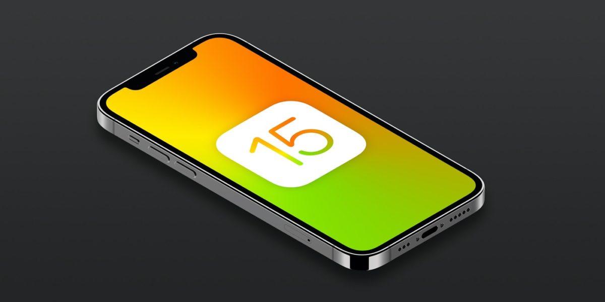 iOS 15 . Logo