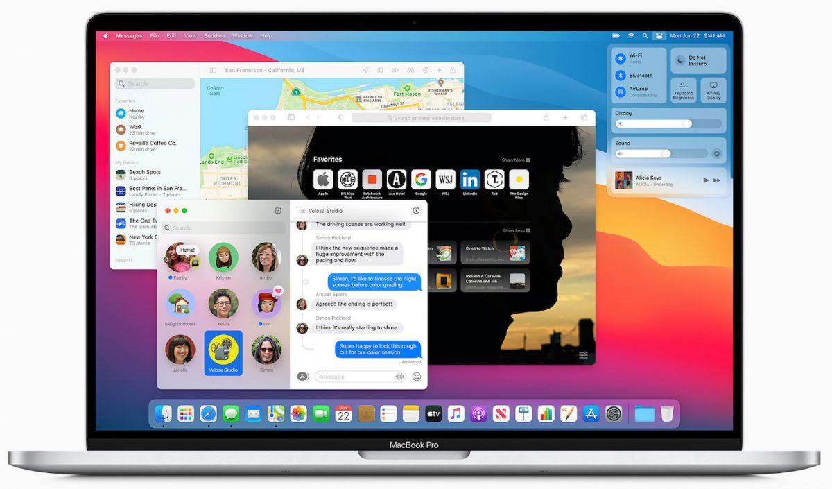 macOS Big On Official MacBook Pro