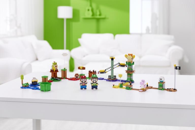 Lego Luigi Adventures