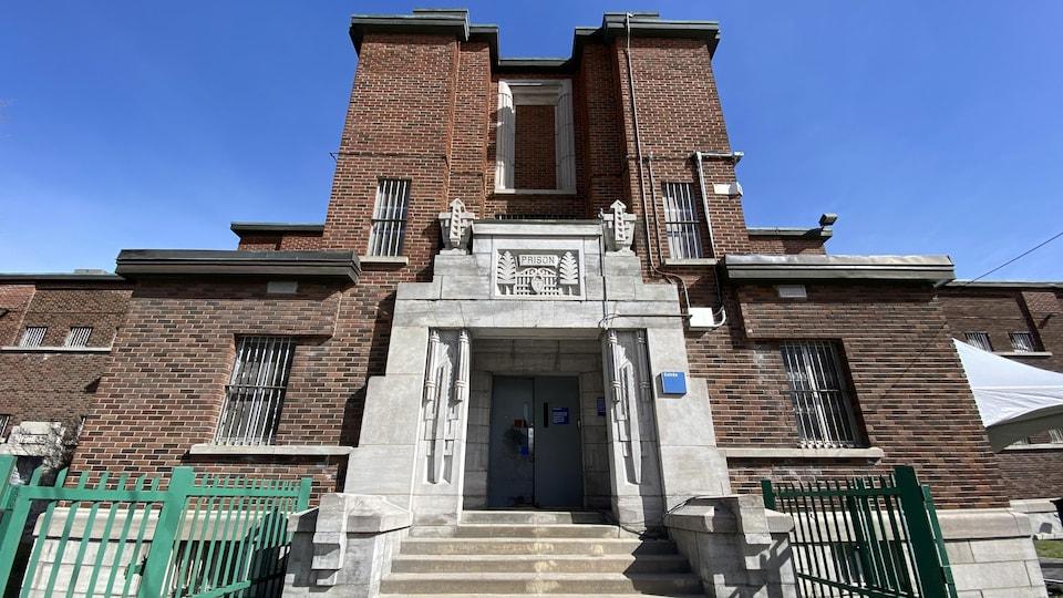 Old prison entrance.