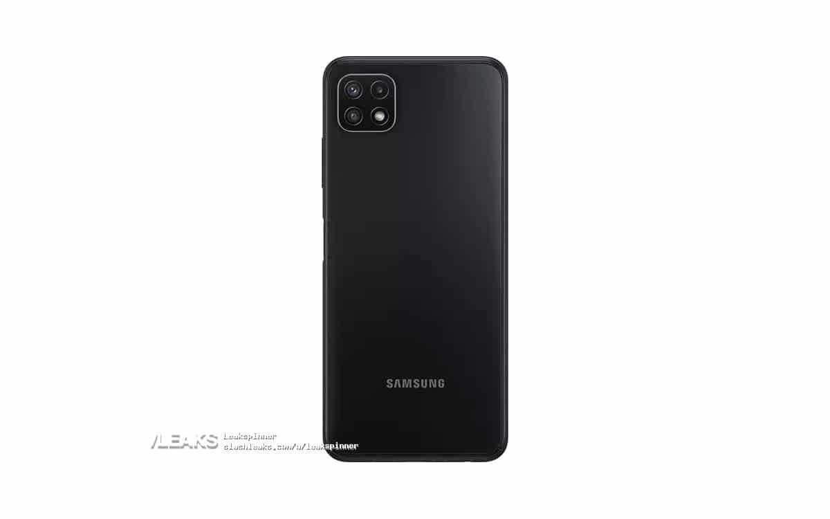Galaxy A22 design leak
