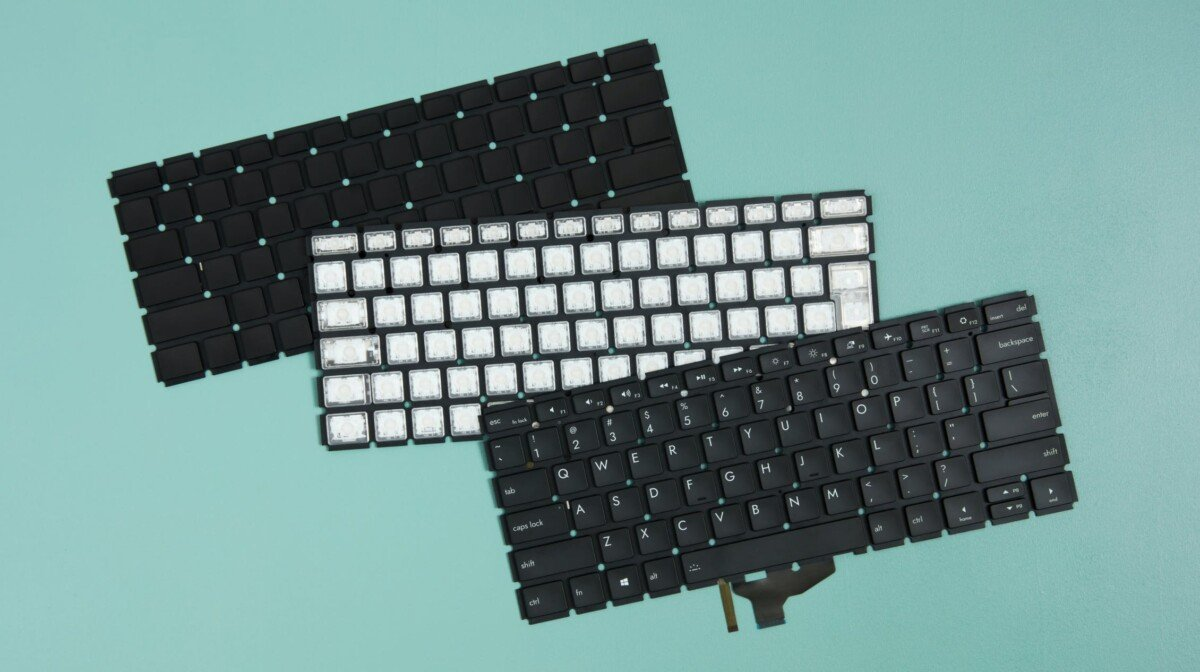You can order AZERTY keyboard