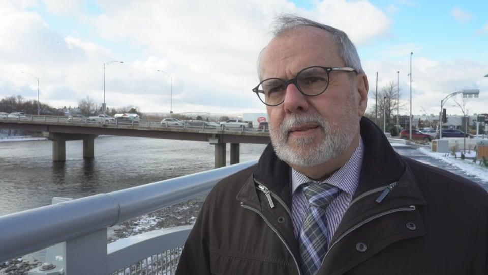 Mayor of Saint-Georges Claude Morin