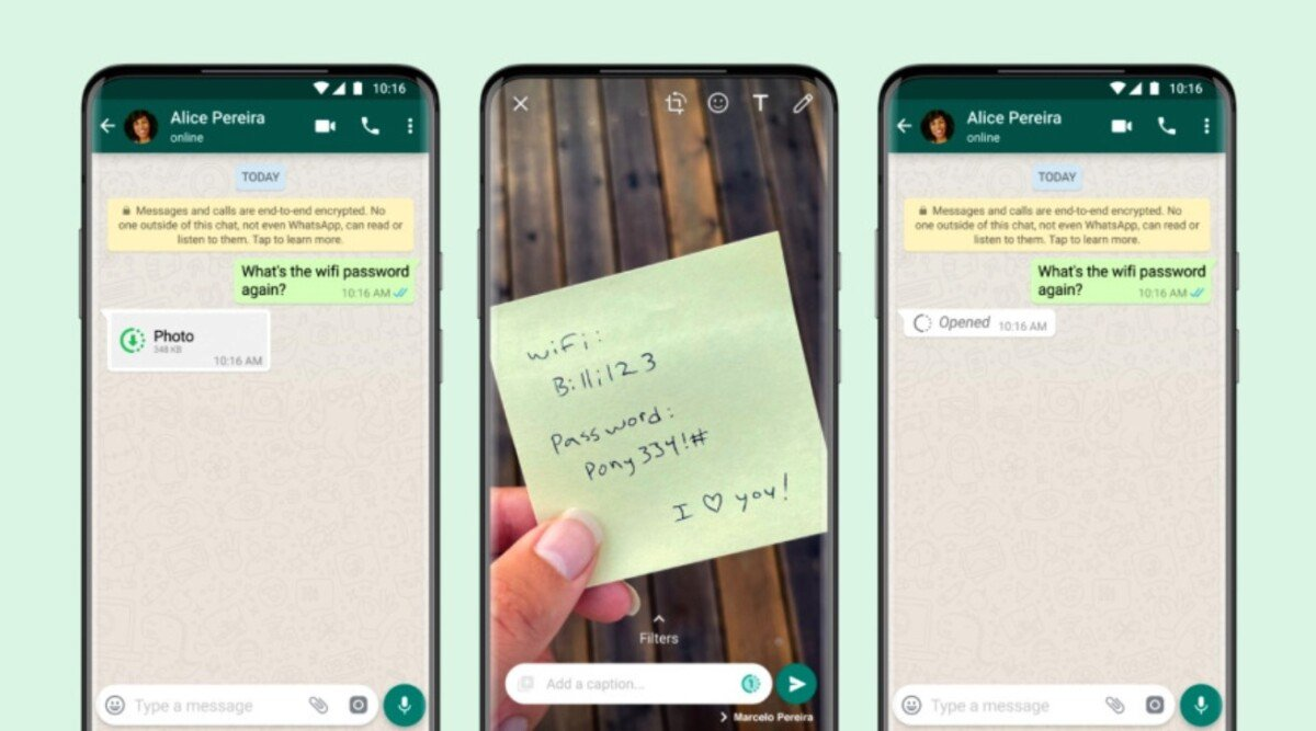 WhatsApp is late in adopting the self-destruct function for photos and videos