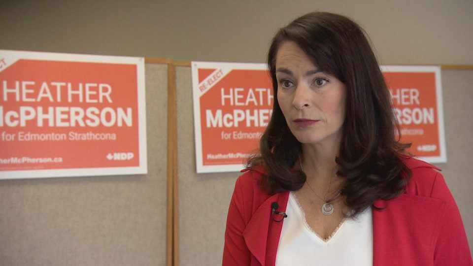 Heather McPherson, the only NDP MP elected in Alberta in 2019, thinks the NDP can make gains in the province.