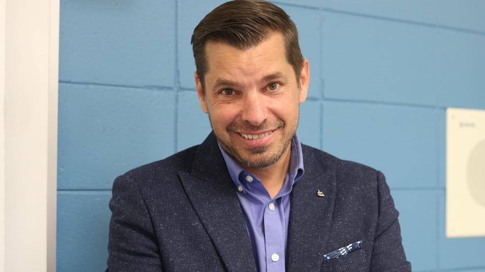 Bloc Québécois candidate in a Gaspésie-Les-les-de-la-Madeleine ride, Guy Bernatchez.