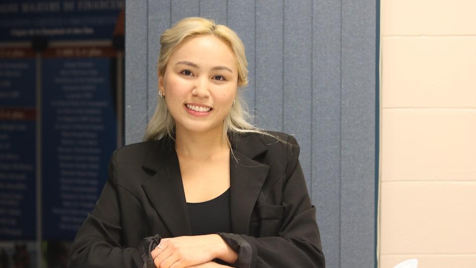 New Democratic candidate Lisa Fong.