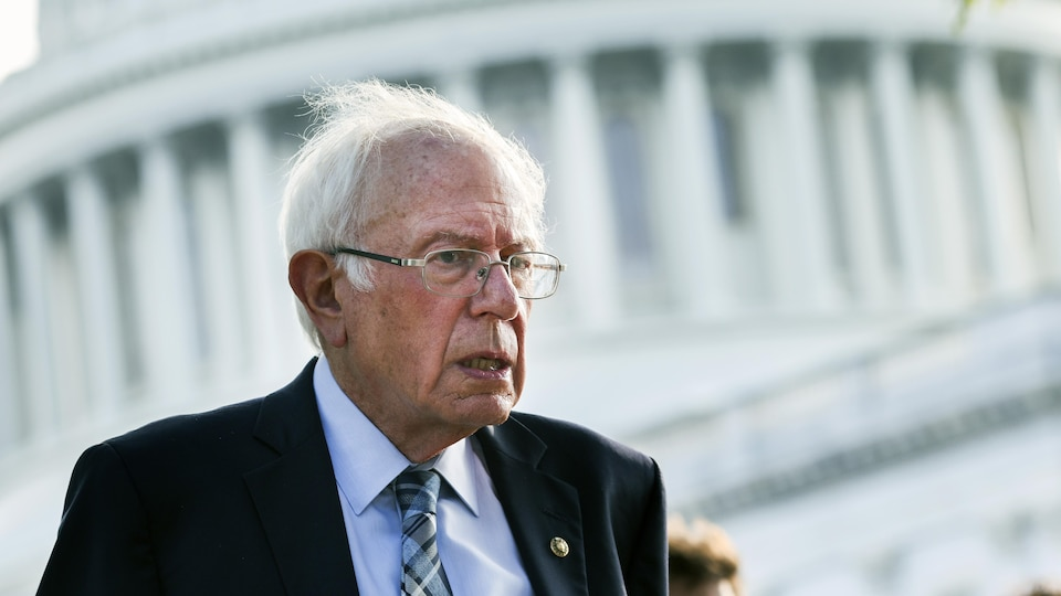 Bernie Sanders, chairman of the Senate Budget Committee and principal architect of the .5 trillion bill.