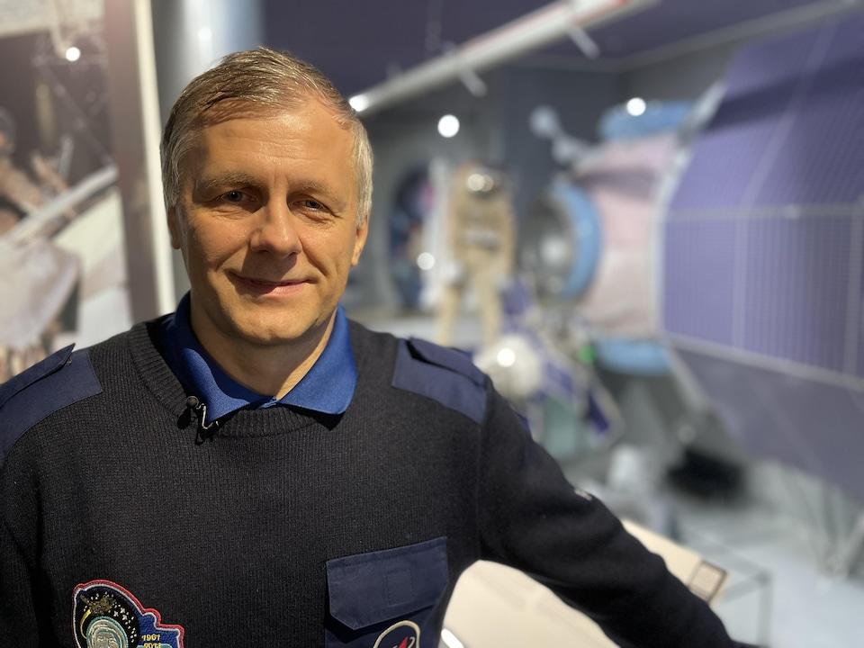 Andrei Borisenko close up.