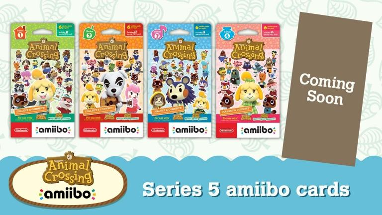 Amiibo Card Series 5 will be available soon.