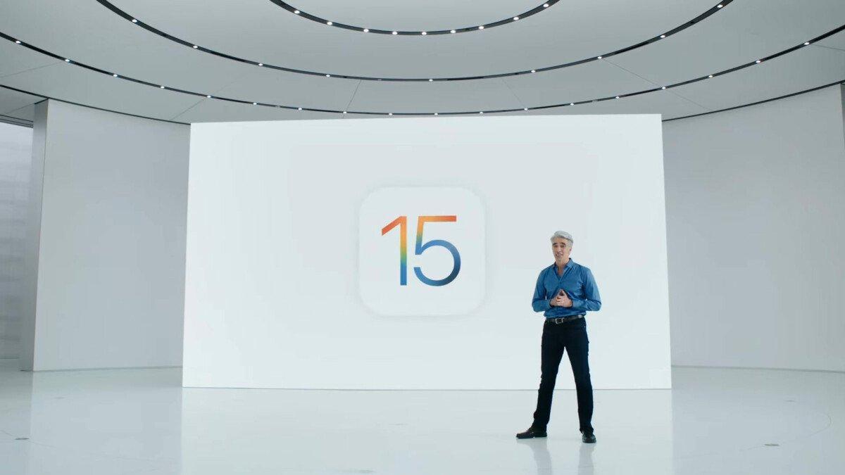 Craig Federighi Presents iOS 15 at WWDC 2021