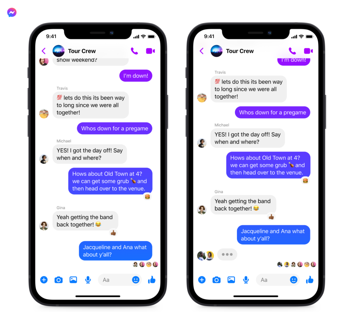 Instagram: Group chat with your friends stuck on Messenger